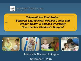 Telehealth Alliance of Oregon November 1, 2007