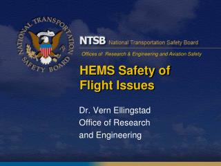 HEMS Safety of Flight Issues