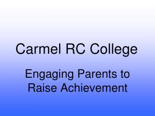 Carmel RC College