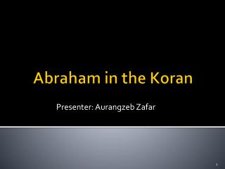 Abraham in the Koran