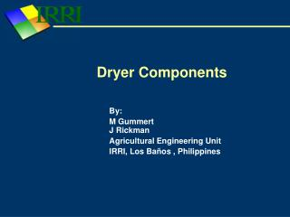 Dryer Components