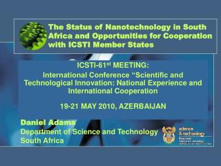 ICSTI-61 st  MEETING: