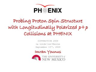 Probing Proton Spin Structure with Longitudinally Polarized  p + p  Collisions at PHENIX