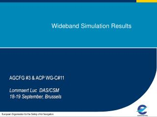 Wideband Simulation Results