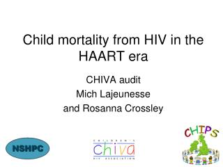 Child mortality from HIV in the HAART era