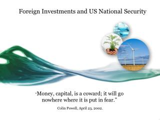 Foreign Investments and US National Security