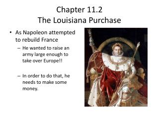 Chapter 11.2  The Louisiana Purchase
