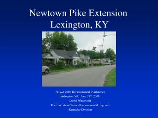 Newtown Pike Extension  Lexington, KY