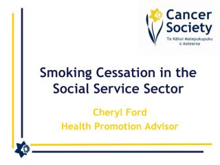 Smoking Cessation in the Social Service Sector