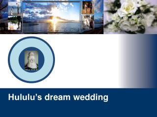 Hululu's  dream wedding