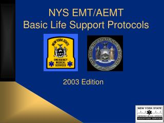 NYS EMT/AEMT Basic Life Support Protocols