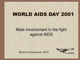 WORLD AIDS DAY 2001