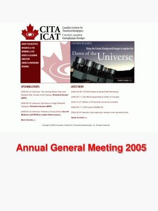 Annual General Meeting 2005