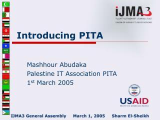 Introducing PITA