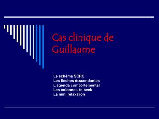Cas clinique de Guillaume