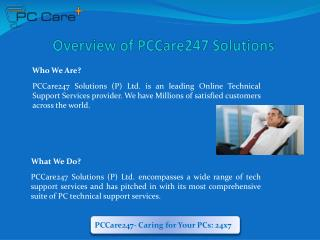 PCCare247 - PC Technical Support