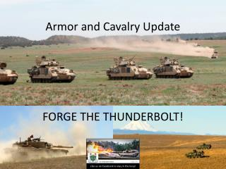 Armor and Cavalry Update FORGE THE THUNDERBOLT!