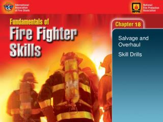 Salvage and Overhaul Skill Drills