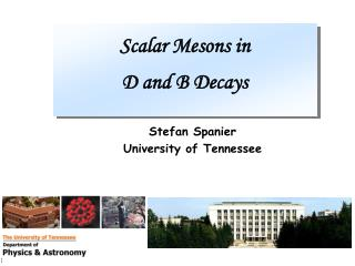 Scalar Mesons in D and B Decays