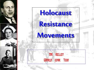 Holocaust Resistance Movements