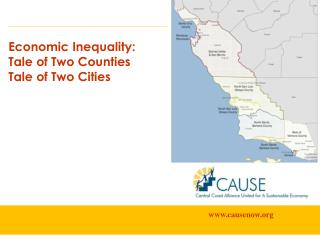 Economic Inequality: Tale of Two Counties  Tale of Two Cities