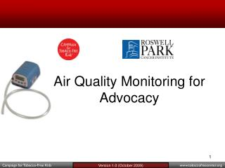 Air Quality Monitoring for Advocacy