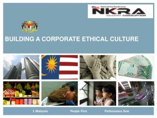 BUILDING A CORPORATE ETHICAL CULTURE