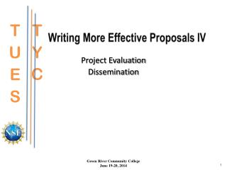 Writing More Effective  Proposals IV