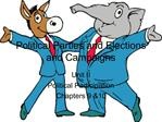 Political Parties and Elections and Campaigns