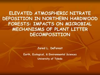Global rates of atmospheric nitrogen deposition
