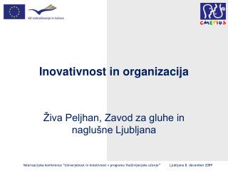 Inovativnost in organizacija