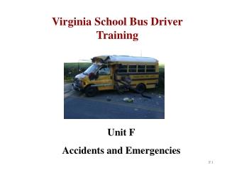 Virginia School Bus Driver Training