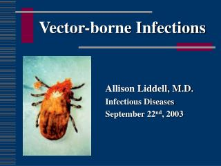 Vector-borne Infections