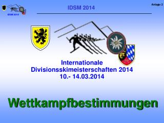 IDSM 2014