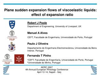 Plane sudden expansion flows of viscoelastic liquids: effect of expansion ratio