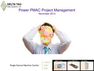 Power PMAC Project Management November 2013