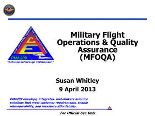 Military Flight Operations & Quality Assurance (MFOQA)