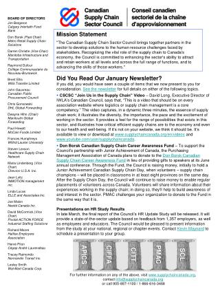 Did You Read Our January Newsletter?