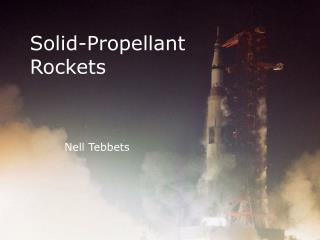 Solid-Propellant Rockets