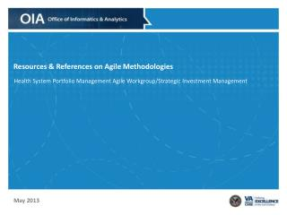 Resources & References on Agile Methodologies