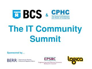The IT Community Summit