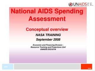 National AIDS Spending Assessment Conceptual overview