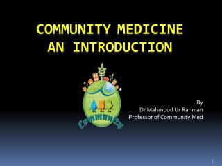 community medicine An Introduction