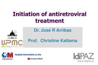 Initiation of antiretroviral treatment