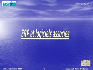 ERP et logiciels associés