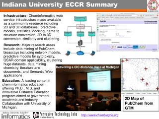 Indiana University ECCR Summary