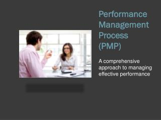 Performance Management Process  (PMP)
