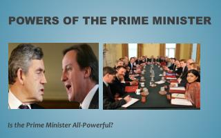 Powers of the Prime Minister