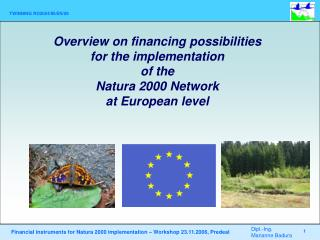 Financial resources for the Natura 2000 Network