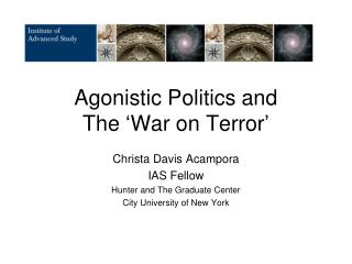 Agonistic Politics and  The 'War on Terror'